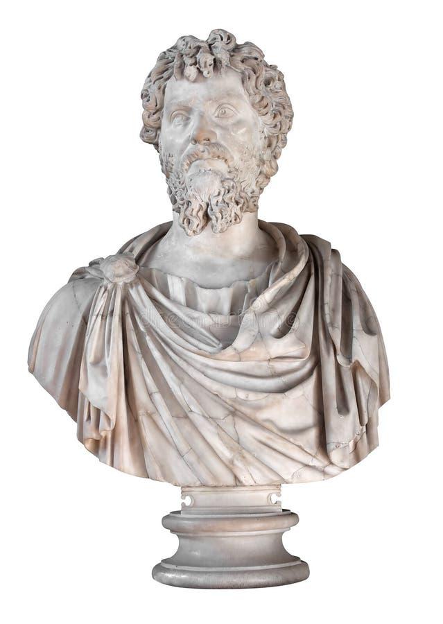 Rman Kaiser Septimius Severus stockbild