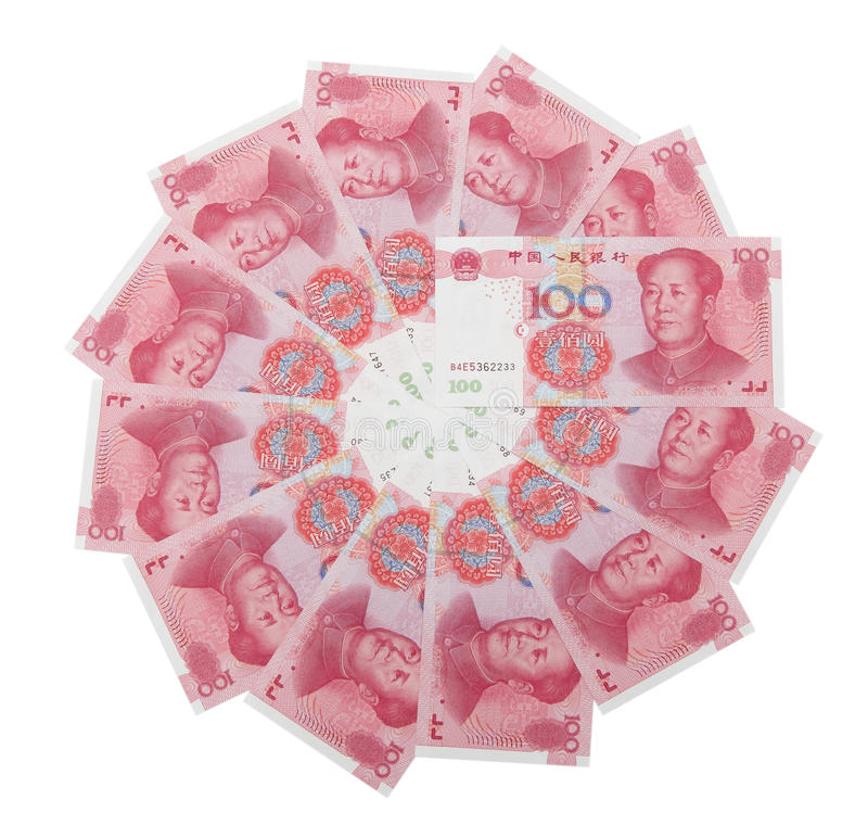 Download RMB 100 in circle stock image. Image of cash, finance - 22958479