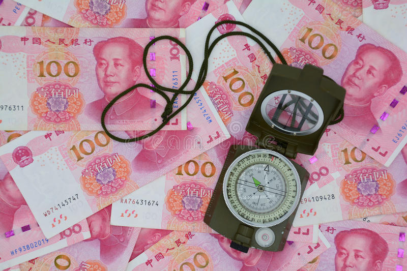 RMB monetarnej polisy strategia obraz royalty free