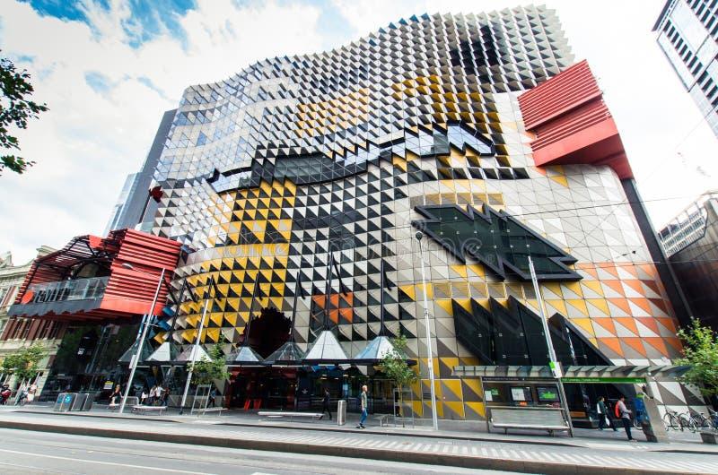 RMIT-Universität in Melbourne Australien lizenzfreie stockbilder