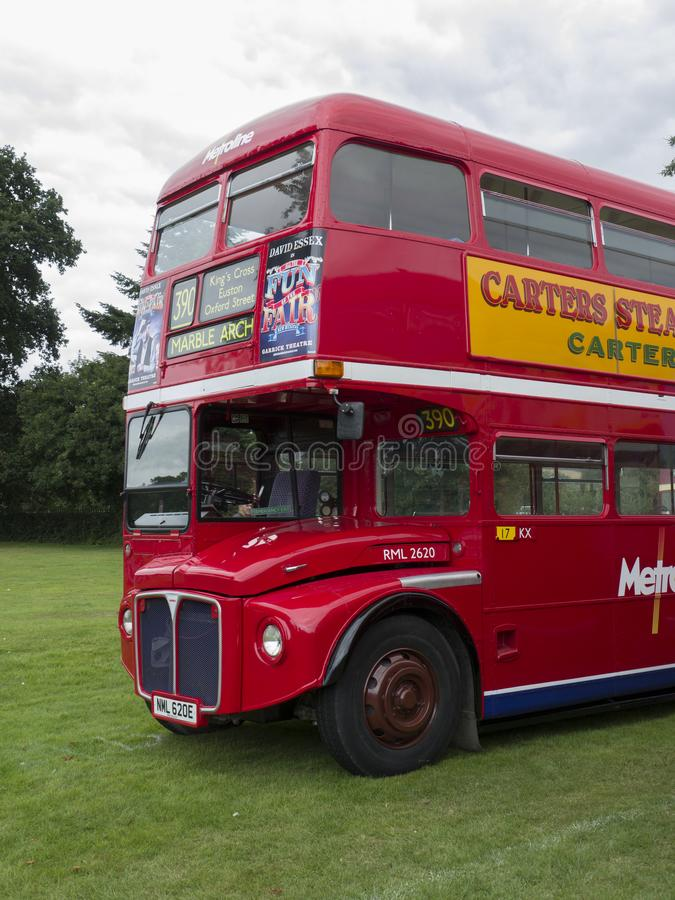 RML, Routemaster London Bus. RML Routemaster Bus at Alton Bus Rally & Running Day 2019. The AEC Routemaster is a front-engined double-decker bus that was stock photos