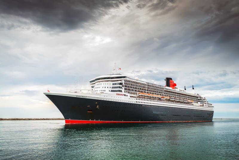 RMS Queen Mary 2 photos libres de droits