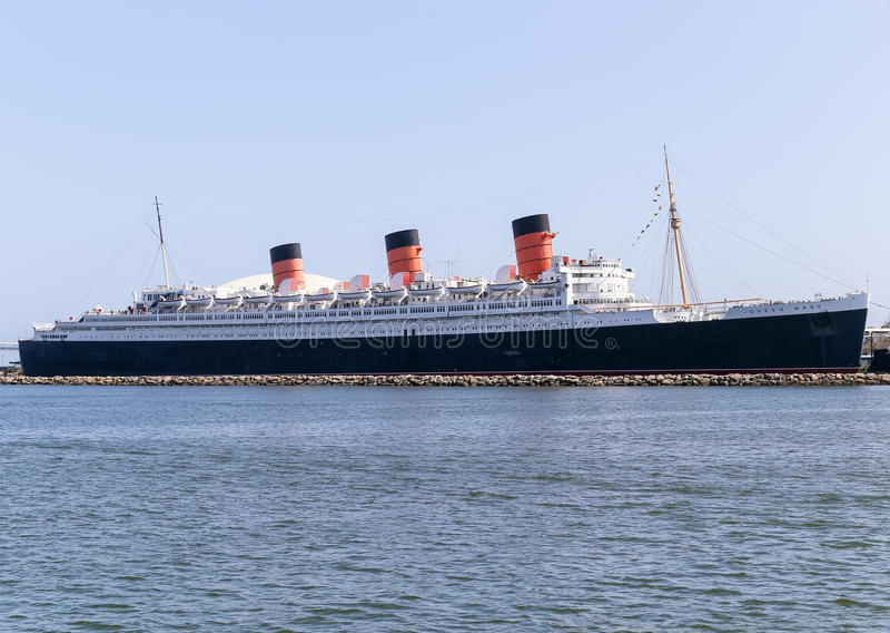 RMS Queen Mary photographie stock libre de droits