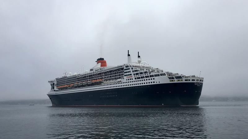 RMS Queen Mary 2 stock photography