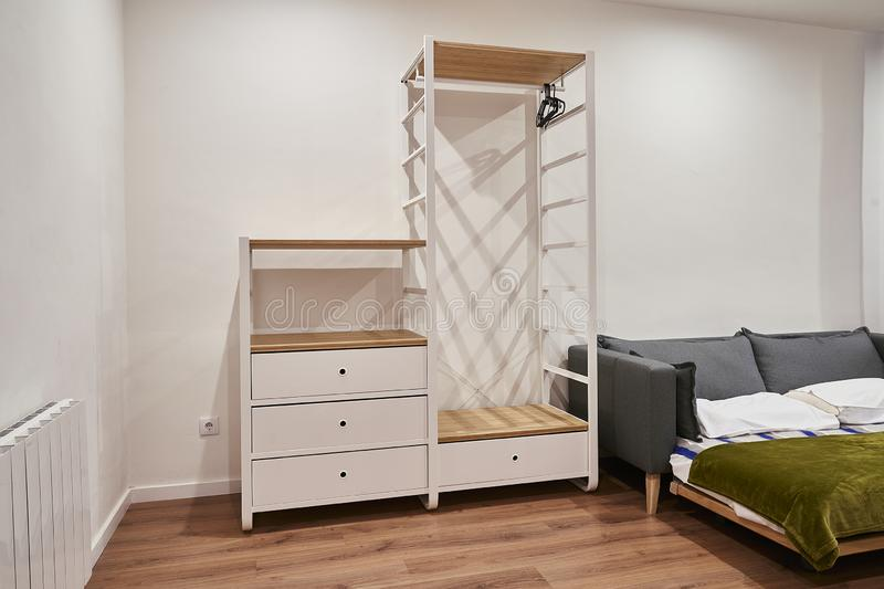Modern And Affordable Apartment Furniture. Stock Image ...