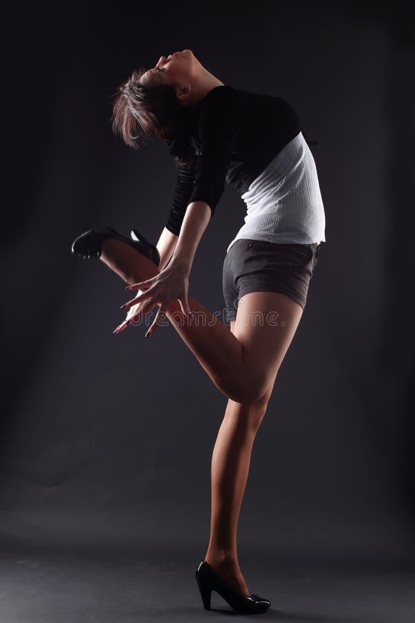 RnB Woman Dancer Royalty Free Stock Photos
