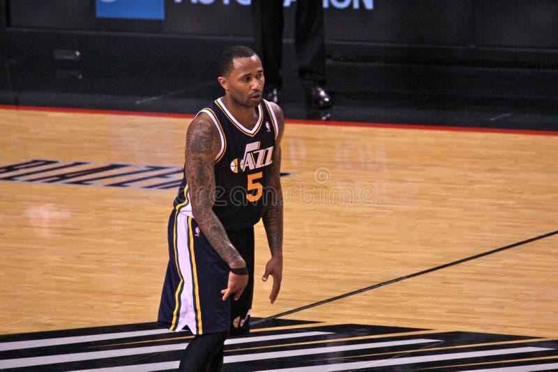 Mo Williams. RnMo Williams guard for the 2012-13 Utah Jazz royalty free stock photos