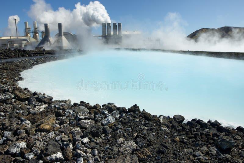 rośliny geotermiczna władza zdjęcie royalty free