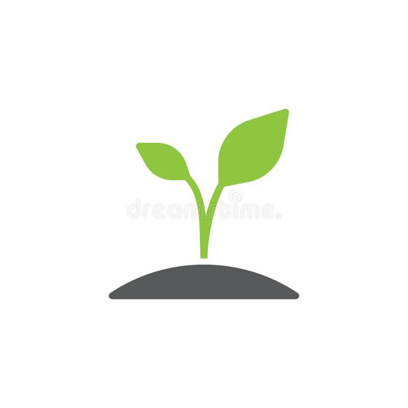 Rośliny ikony wektor ilustracja wektor