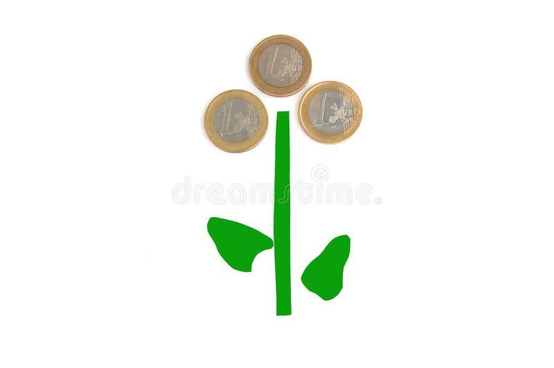 rośliny pieniądze fotografia stock
