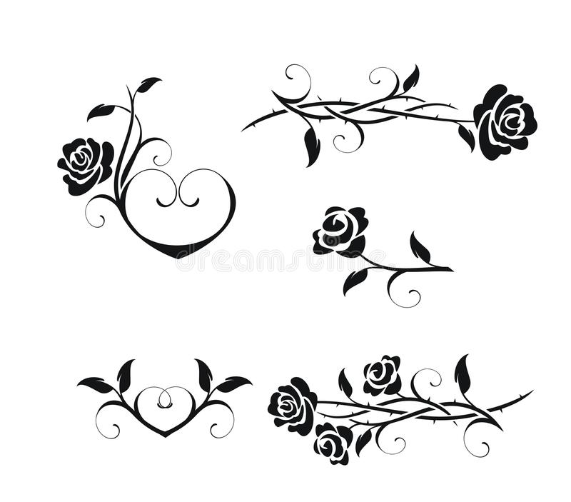 ro royaltyfri illustrationer