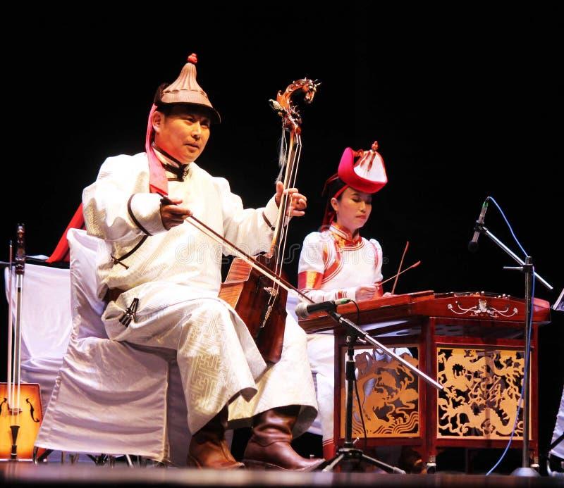 3ro edición del festival de música de Indochina del camino de seda -2018 foto de archivo libre de regalías
