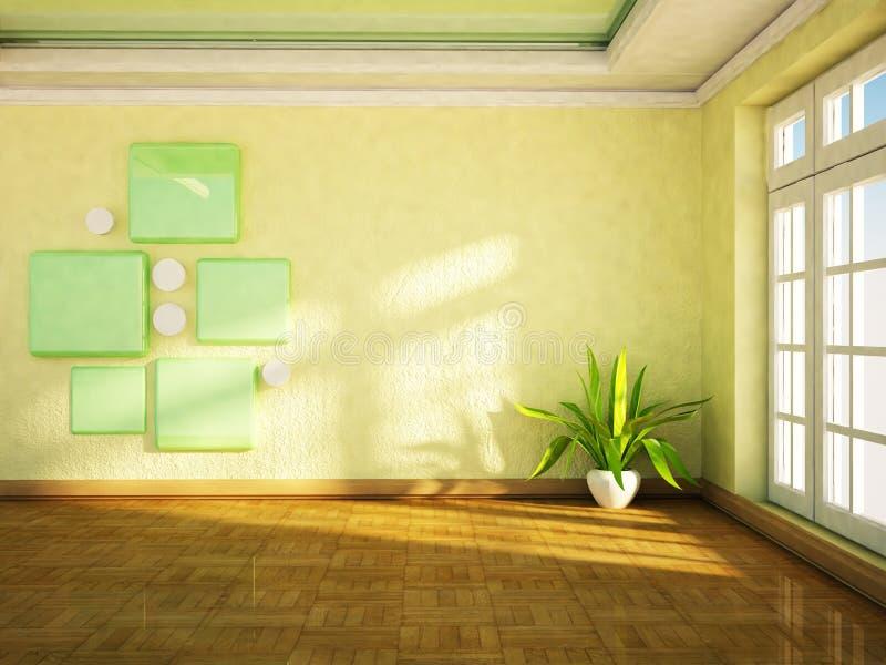 Download Roślina stoi blisko okno ilustracji. Ilustracja złożonej z dekoruje - 41955098