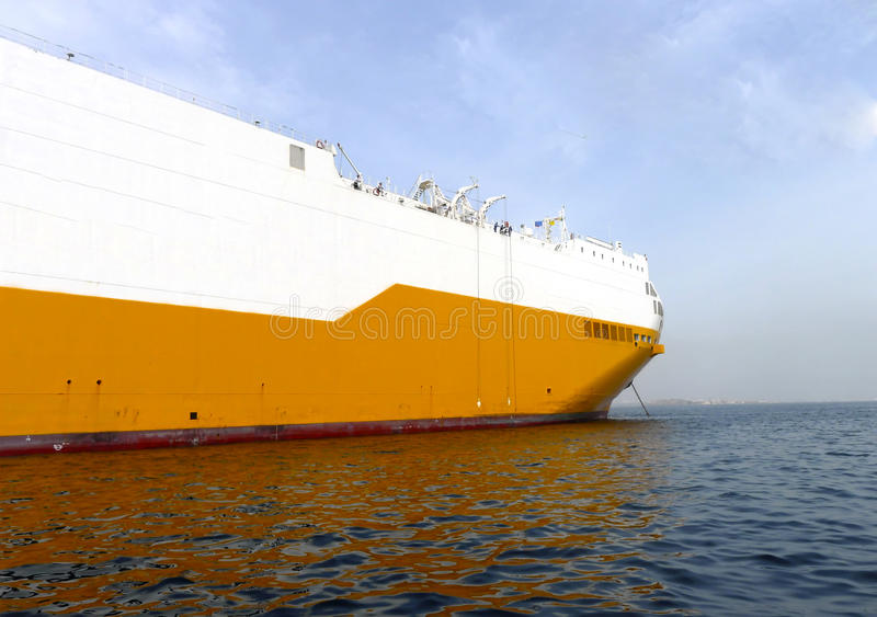 Download Ro ro vessel stock image. Image of huge, container, white - 27806667