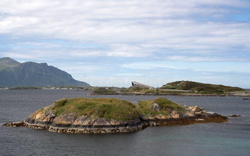 Roa atlantic panoramiczny widok obraz royalty free