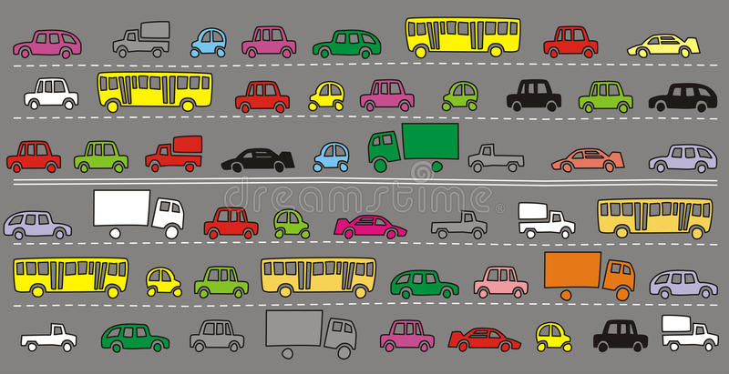 Download Road stock vector. Image of auto, road, land, graphic - 19078179