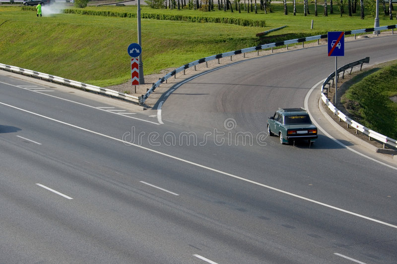 Road 2 royalty free stock image