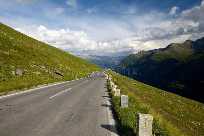Download Road stock photo. Image of curved, clouds, gray, direction - 24656448