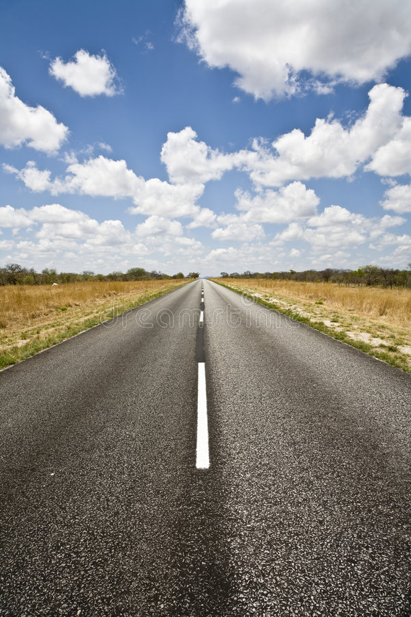 Download On the Road stock photo. Image of southern, namibia, horizon - 3133102