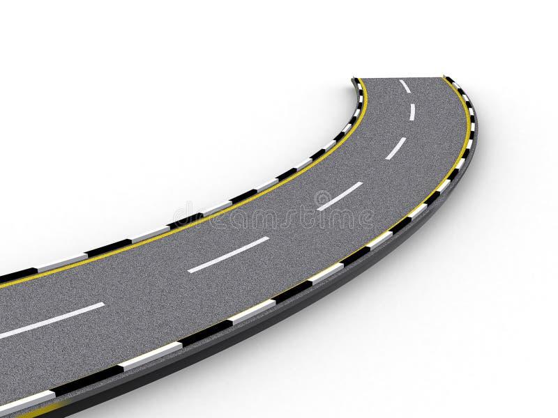 Download Road stock illustration. Image of hole, illustration, rules - 3261520