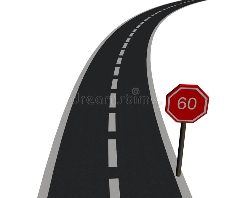 Road stock image