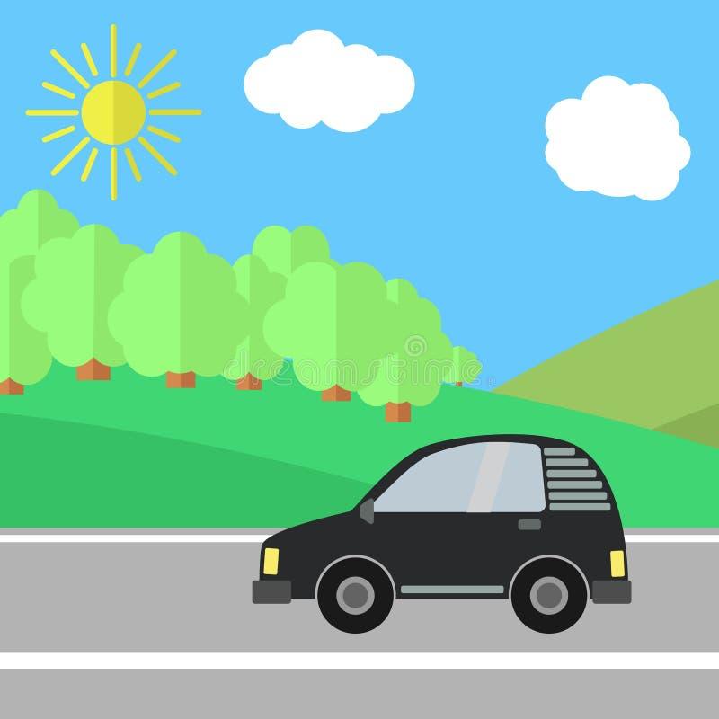 Download Road-09 vektor illustrationer. Illustration av säsong - 78728373