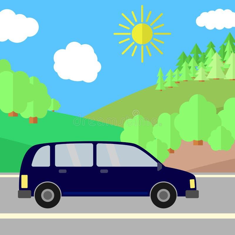 Download Road-12 vektor illustrationer. Illustration av sommar - 78729184