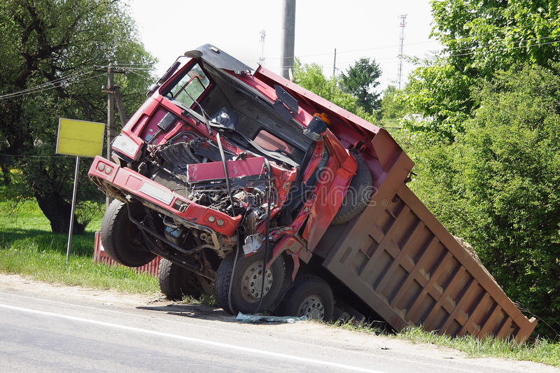 Road accident royalty free stock photos