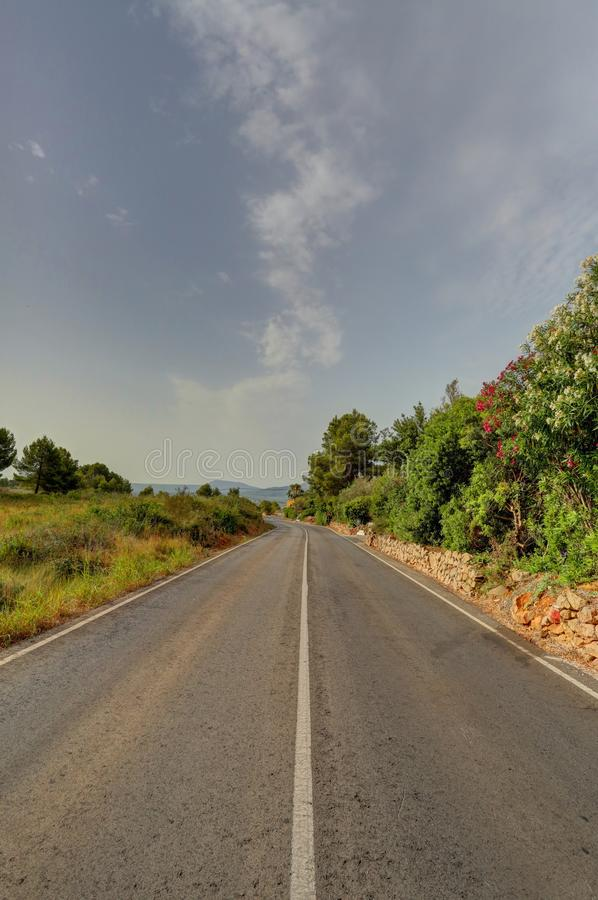 Download The Road Ahead stock photo. Image of middle, roads, clear - 25507066
