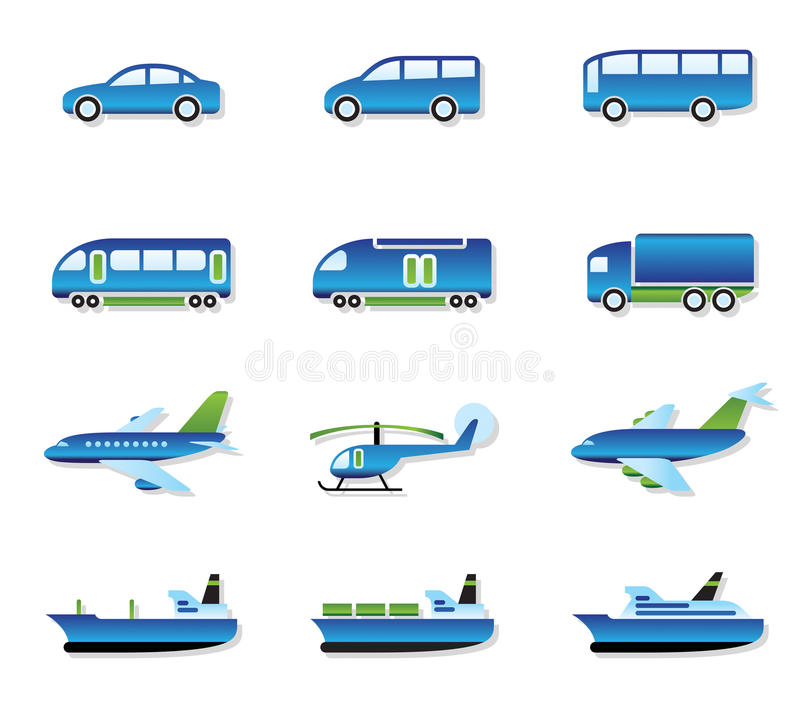 Download Road, Air, Rail And Water Transport Stock Photos - Image: 23660033