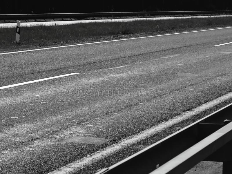 Road asphalt dark atmosphere black stock photo