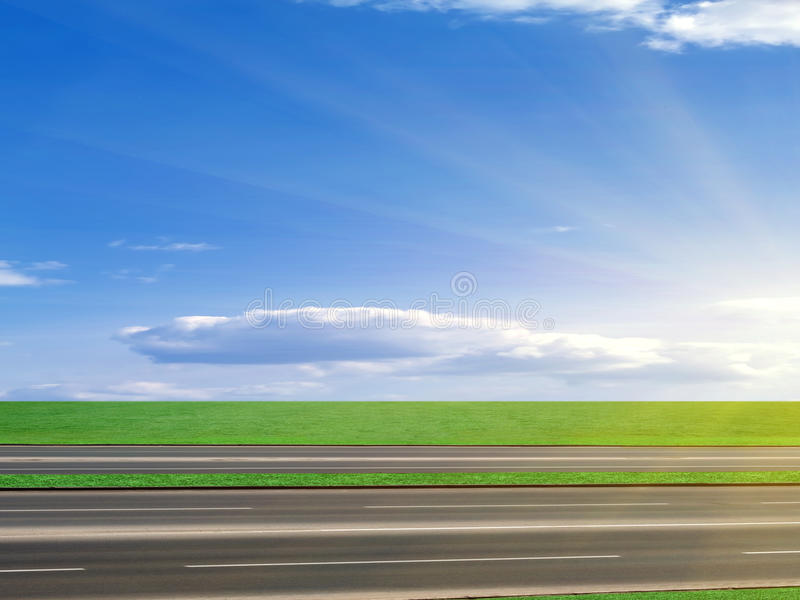 Download Road  asphalted  highway stock photo. Image of marking - 14897772