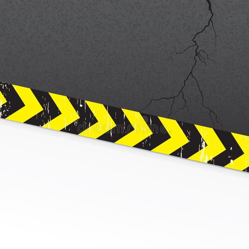 Download Road background stock vector. Image of ribbon, dark, destruction - 25929316