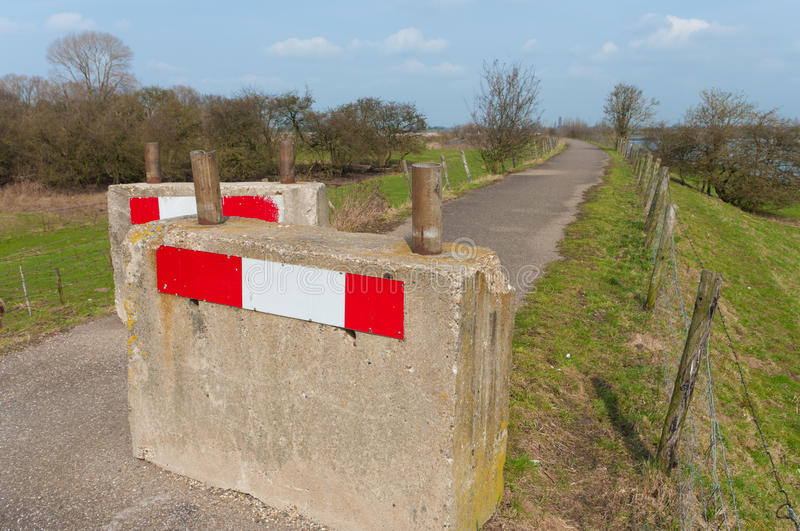 Download Road blocks stock photo. Image of entrance, signage, closed - 24554924