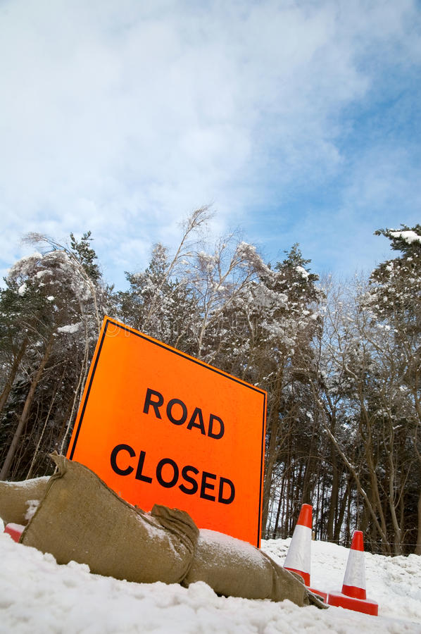 Download Road Closed Royalty Free Stock Photo - Image: 12522675