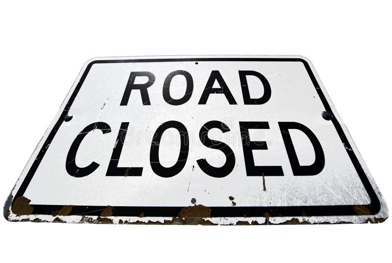 Download Road closed stock photo. Image of color, closing, vacation - 19912600