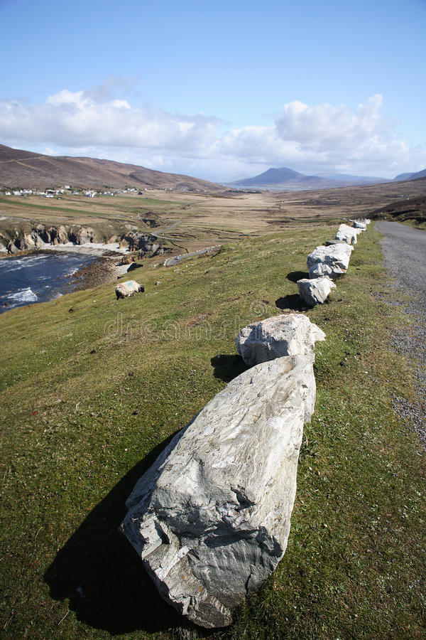 Download Road By The Coast In Achill Island Stock Photo - Image: 12983050