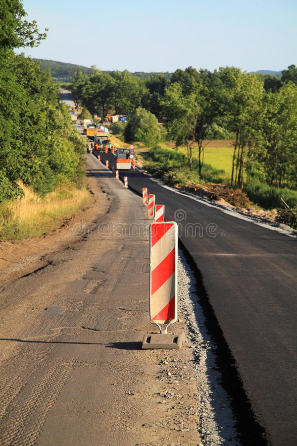 Free Road Construcion Royalty Free Stock Image - 20279796