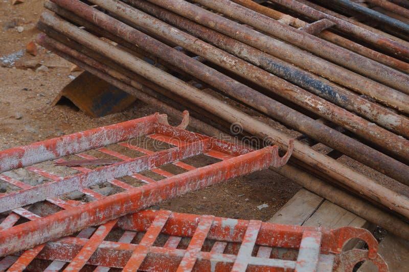 Road Construction Materials : Road construction and building materials stock photo