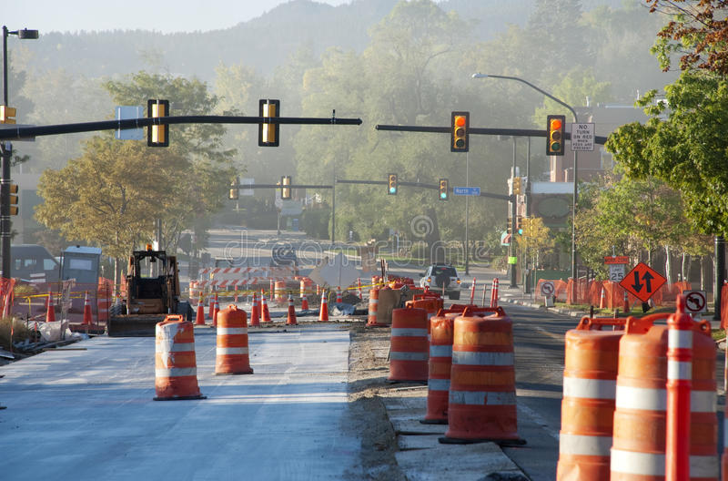 Download Road Construction With Dust Stock Image - Image: 11427931