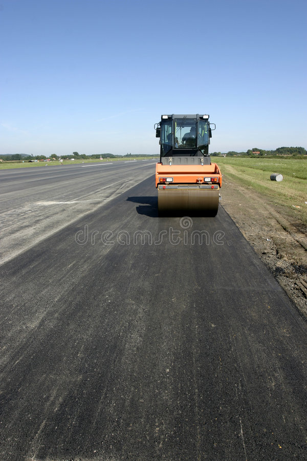 Free Road Construction New 2 Royalty Free Stock Photography - 7432237