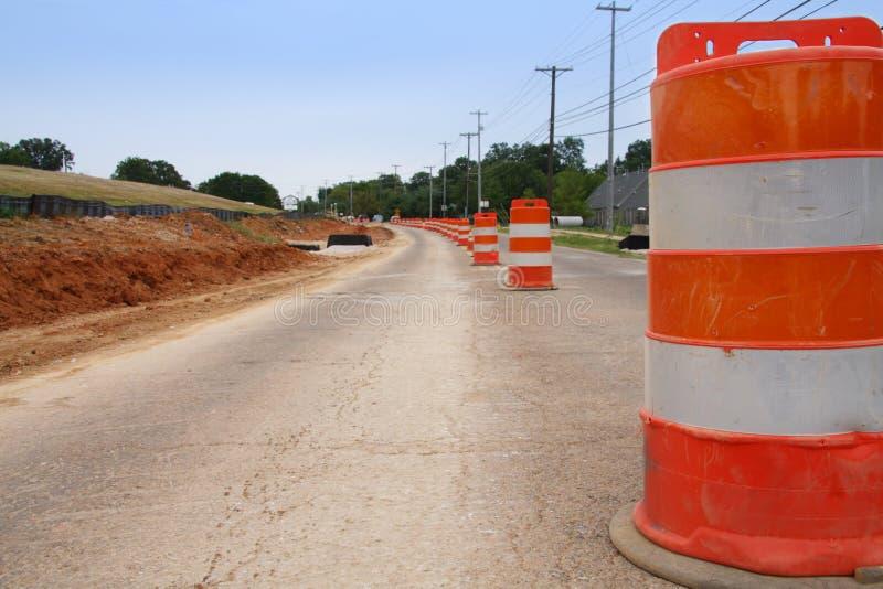 Road Construction Pylon royalty free stock photo