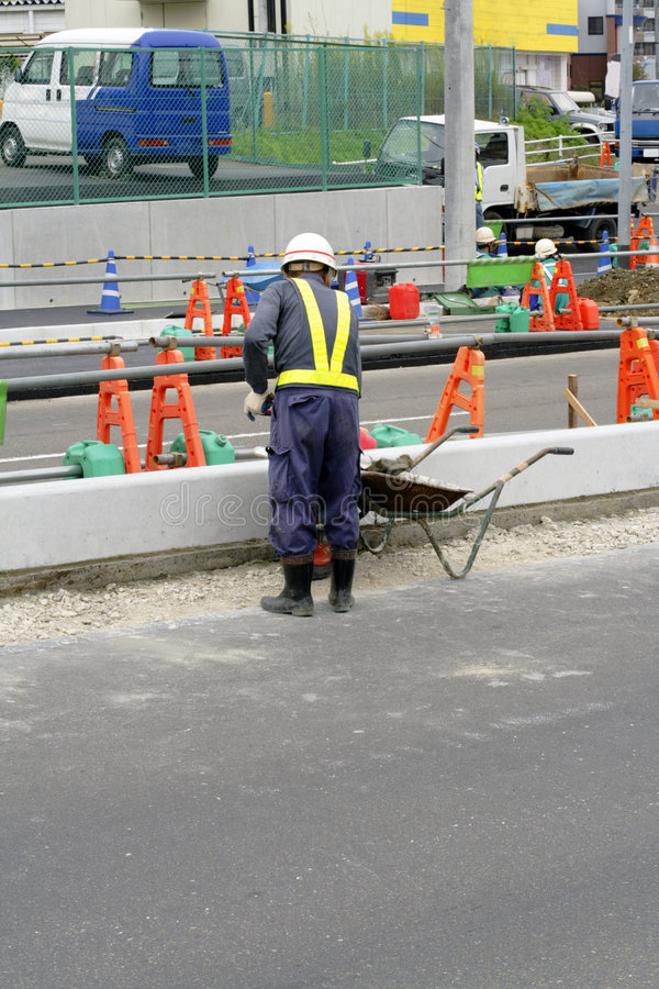 Road constructor royalty free stock photos