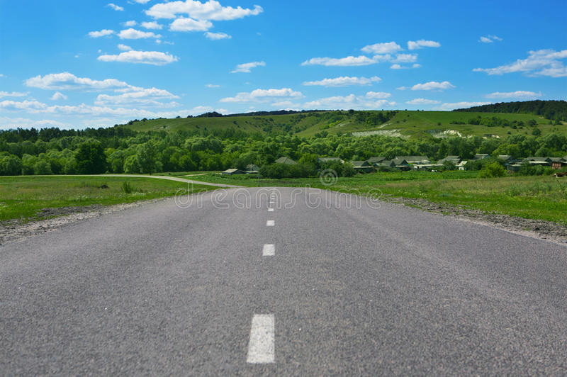 Download Road Through Countryside Stock Images - Image: 19081784