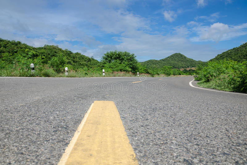 Download Road in countryside stock photo. Image of fresh, slope - 32258878