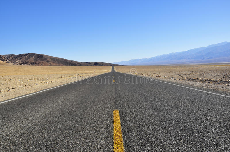 Download Road in Death Valley stock image. Image of travel, valley - 19875827