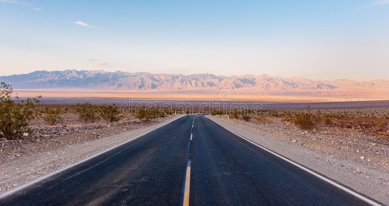 Download The road in death valley stock image. Image of travel - 33039509