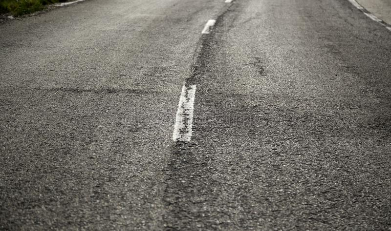 Road drifting texture stock photography