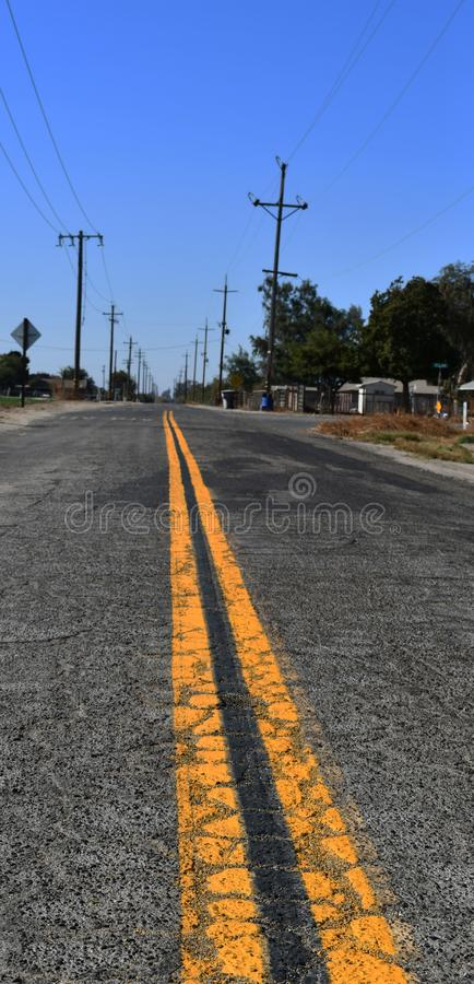 Road driving / asphalt of road for car travel transportation royalty free stock photo