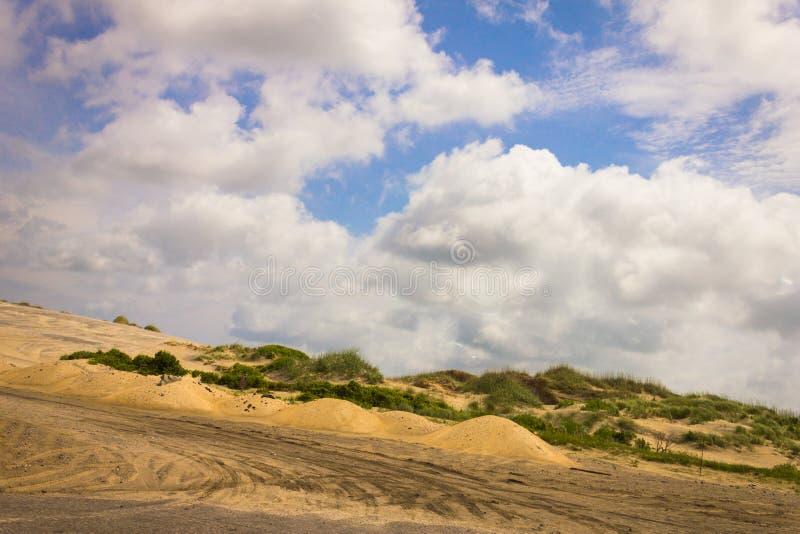 Road Dunes in Hatteras 3 stock image